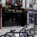 Bicycle Rack at Paddy Quins